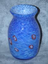 Medium Blue Murrini Vase