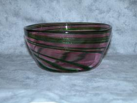 rose and aventurine bowl