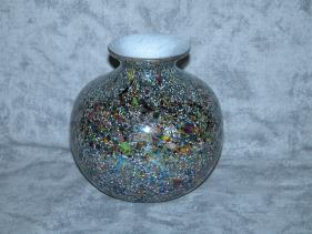 Decorative Glass Vases, hand-crafted glass vase, unique art vases